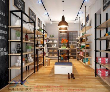 Thiết kế cửa hàng tạp hóa 30m2