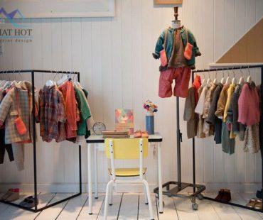 Thiết kế cửa hàng thời trang phong cách Vintage – Retro