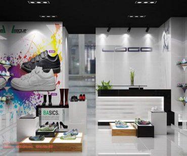 Thiết kế cửa hàng thể thao tại AEON MALL
