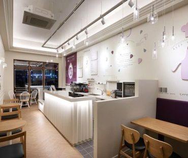 Thiết kế quán Cafe La Cake 37m2