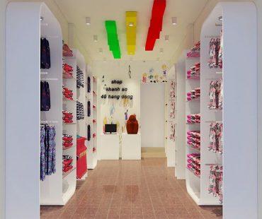 Thiết kế shop thời trang trẻ em Khánh An 30m2 – Hà Nội