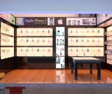 Thiết kế shop điện thoại diện tích nhỏ Tân Nga 20m2