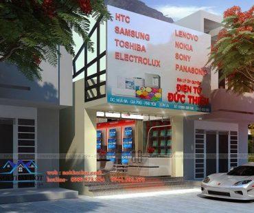 Thiết kế cửa hàng điện máy Đức Thiệu – Phú Yên – Sơn La
