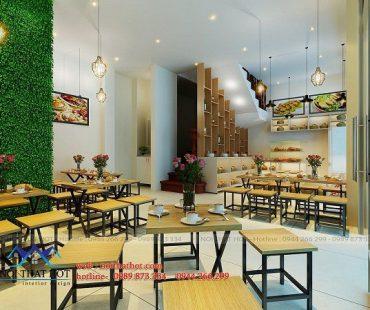 Thiết kế quán ăn nhanh Đào Tấn – anh Tuấn