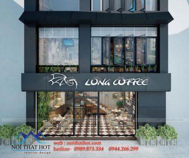 Thiết kế quán cafe Long Coffee 70m2