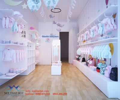 Thiết kế shop thời trang trẻ em nhỏ – Phủ Lý Hà Nam