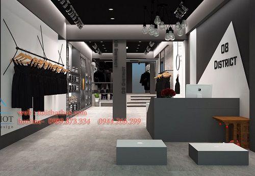 Thiết kế shop thời trang 08 District x Dark Horse