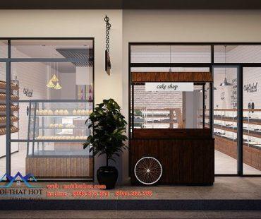 Thiết kế cửa hàng bánh ngọt Hùng Thoa – Ninh Bình
