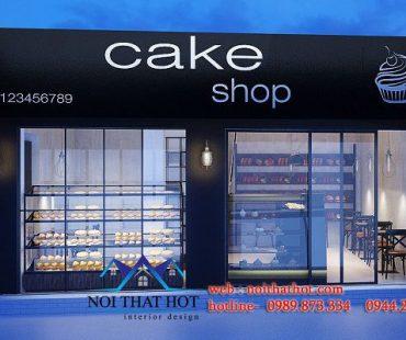 Thiết kế cửa hàng bánh Jamie – Nguyễn Biểu