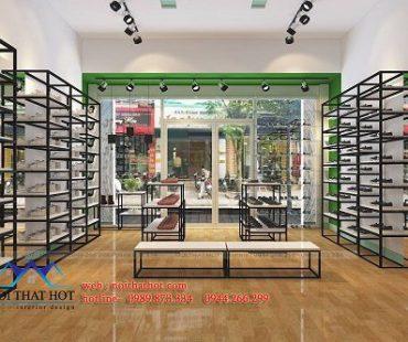 Thiết kế shop giày dép trẻ em 485 Trương Định