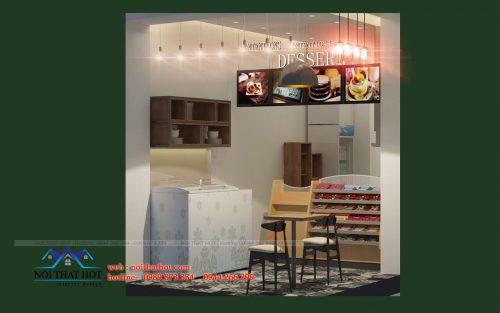 Thiết kế quán ăn nhanh diện tích nhỏ – Chị Oanh Hà Nội
