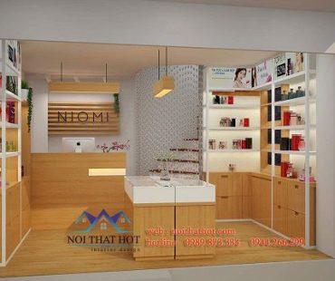 Thiết kế shop mỹ phẩm nhỏ Niomi – Xã Đàn