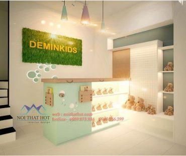 Thiết kế shop thời trang trẻ em Deminkids – Tây Sơn