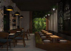 Thiết kế quán trà sữa YongTea