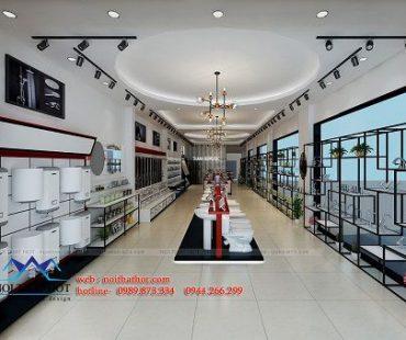Thiết kế cửa hàng thiết bị vệ sinh Thanh Hùng – Phủ Lý