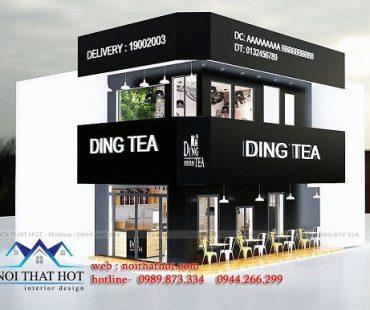 Cải tạo và thiết kế cửa hàng bánh ngọt Mai Huy