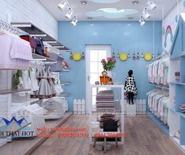 Thiết kế shop giày dép Vi Store