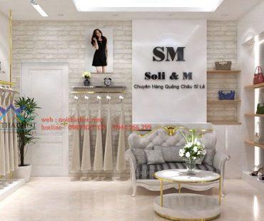 Thiết kế shop thời trang SM – 55 Nguyễn Trãi
