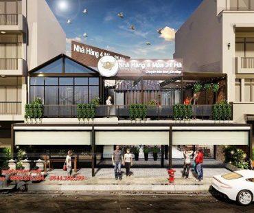 Thiết kế nhà hàng đẹp với phong cách đơn giản 31 HA 500m2