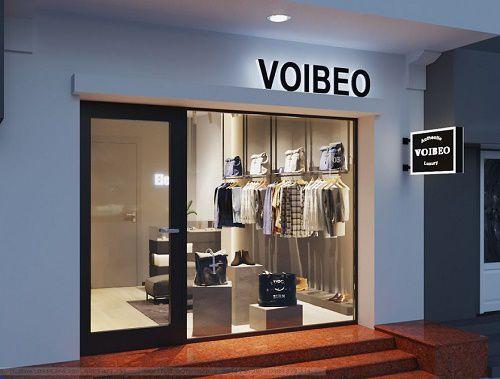 Thiết kế shop thời trang nam cao cấp VOIBEO – số 9 Nhà Hỏa