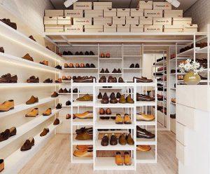 Thiết kế cửa hàng giày dép diện tích nhỏ Kat Shoes