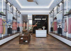 Thiết kê shop quần áo nữ diện tích nhỏ Dương Anh