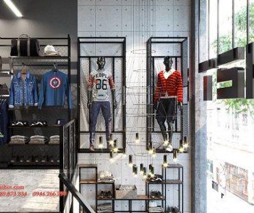 Thiết kế shop thời trang nam H2T 330 Nguyễn Trãi