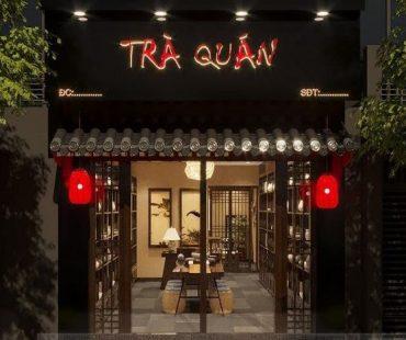 Thiết kế quán trà đạo tại 151 Hoàng ngân – Hà Nội