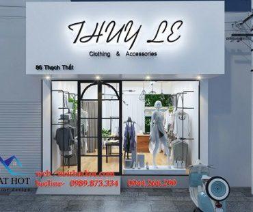 Thiết kế shop quần áo và phụ kiện thời trang Thuy L3
