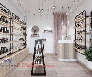 Thiết kế shop mỹ phẩm diện tích nhỏ 10m2 tại 298 Tây Sơn