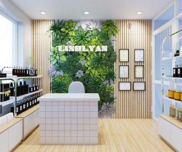 Thiết kế shop mỹ phẩm online diện tích nhỏ Linhlyan 10m2