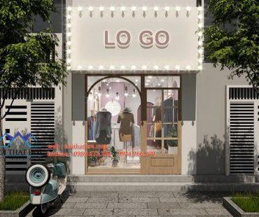 Thiết kế shop thời trang nữ 20m2 tại 170 Thượng Đình