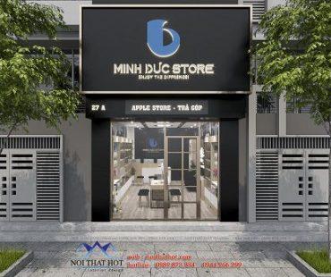 Thiết kế shop điện thoại Minh Đức Store – Hải Phòng