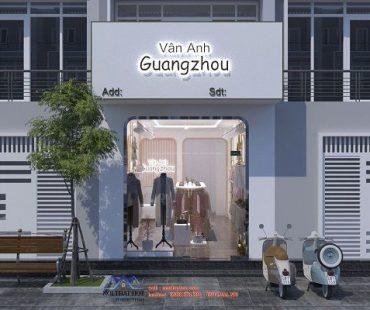 Thiết kế shop thời trang nữ Vân Anh Guang Zhou 30m2