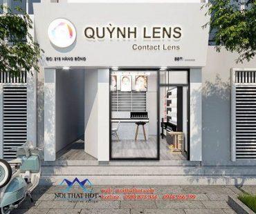 Thiết kế cửa hàng kính áp tròng Quỳnh Lens cơ sở 2