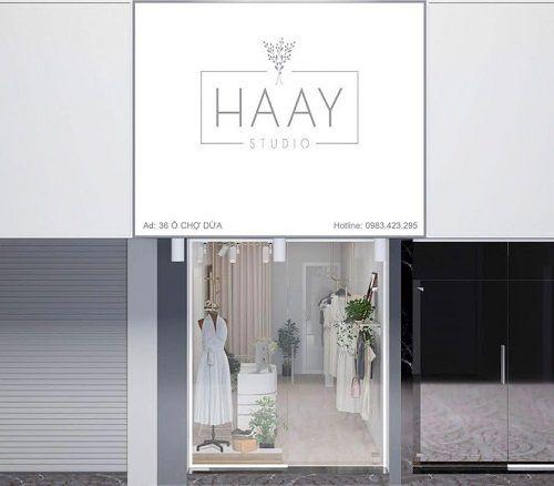 Thiết kế shop quần áo 18m2 HAAY – 36 Ô Chợ Dừa