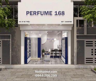 Thiết kế shop nước hoa Perfume 168 – anh Thanh