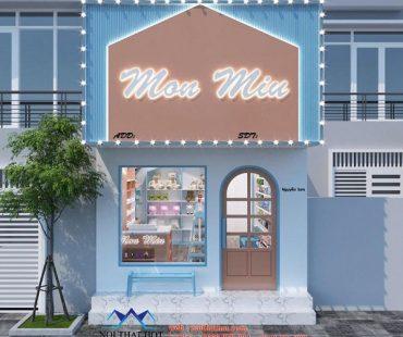 Thiết kế cửa hàng quà lưu niệm 25m2 – chị Yến