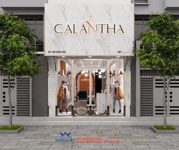 Thiết kế shop thời trang cao cấp 35m2 tại 256 Bạch Mai