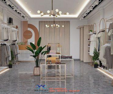 Thiết kế shop quần áo thời trang nữ 40m2 – chị Trang