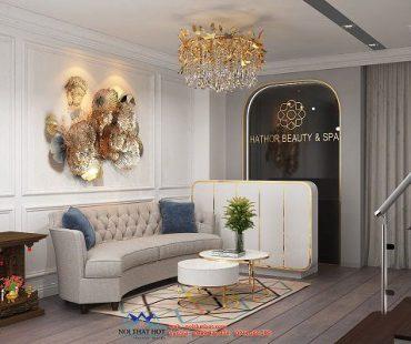 Thiết kế spa cao cấp 60m2 – chị Thơ – Thanh Xuân