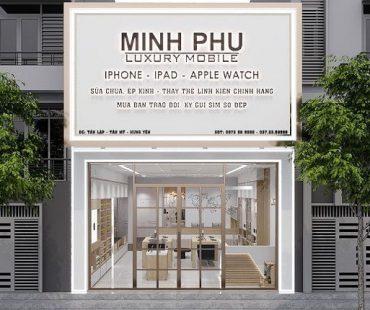Thiết kế shop điện thoại 80m2 tại Phố Nối
