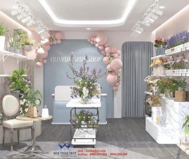Thiết kế cửa hàng hoa tươi 25m2 – chị Quỳnh Anh