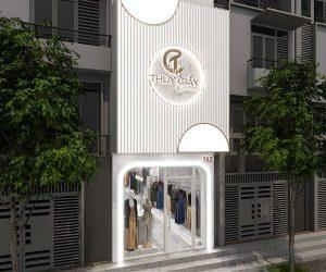 Thiết kế shop Thúy Giầy 70m2 – 282 Nguyễn Trãi