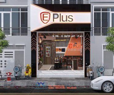 Thiết kế cửa hàng phụ kiện điện thoại Eplus – anh Thịnh