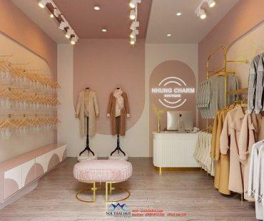 Thiết kế cửa hàng nội y và thời trang nữ Nhung Charm