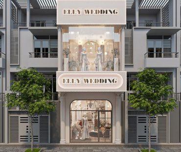 Thiết kế Studio áo cưới Elly Wedding – Chị Phượng