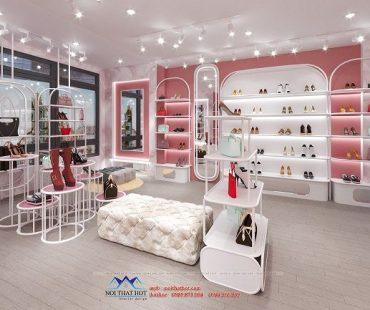 Thiết kế shop giày túi Hudie – Tầng 3 số 462 Nguyễn Trãi