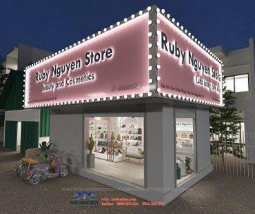 Shop mỹ phẩm và phụ kiện thời trang tại Chợ Chiều