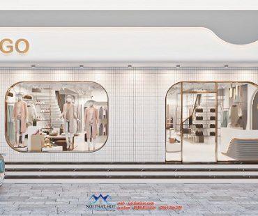 Thiết kế cửa hàng thời trang nữ 100m2 số 158 Nguyễn Sơn